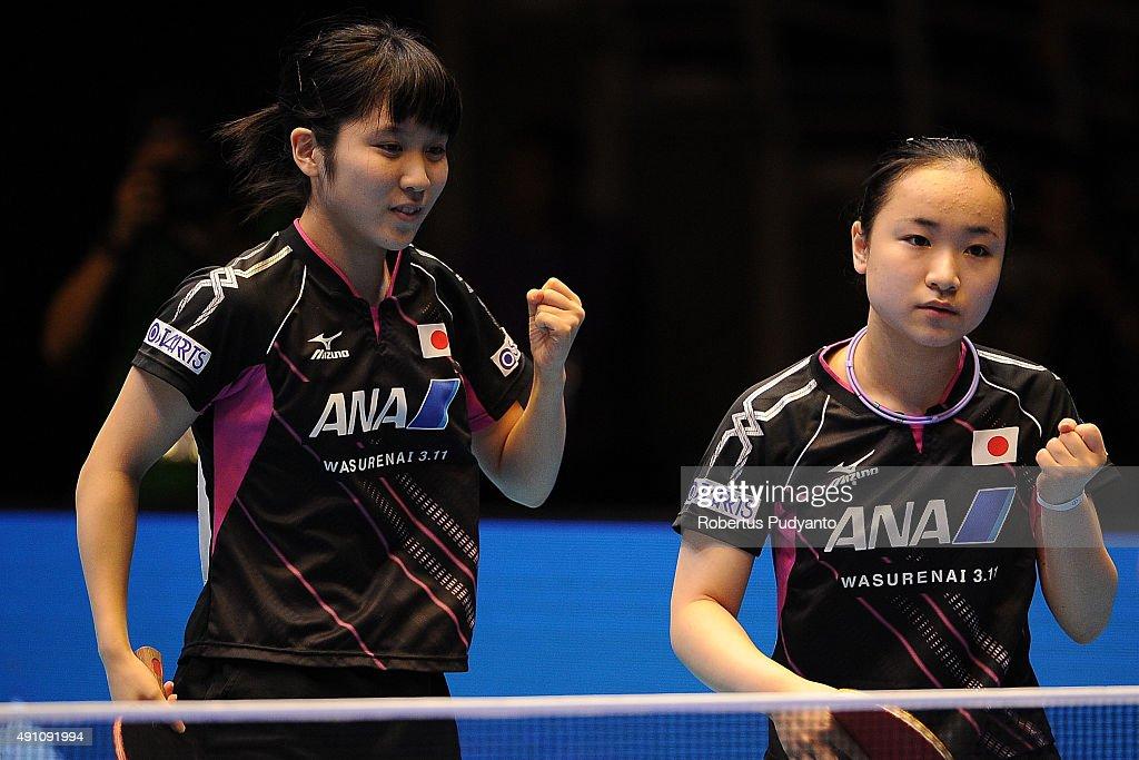 2015 ITTF Asian Championship : ニュース写真