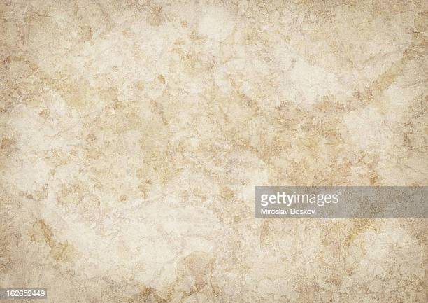 hi-res antique animal skin parchment mottled blotted vignette grunge texture - old parchment background burnt stock photos and pictures
