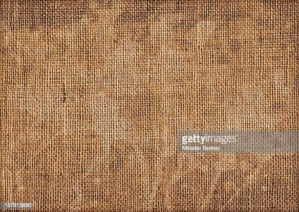 Hi-Res Antique Burlap Canvas Mottled Blotted Grunge Texture