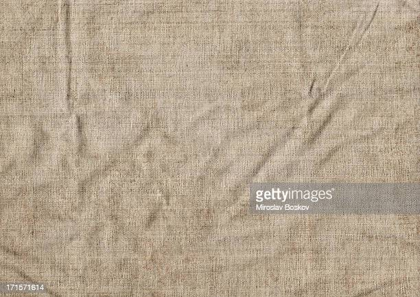 Hi-Res Artist Natural Linen Duck Canvas Wrinkled Grunge Texture