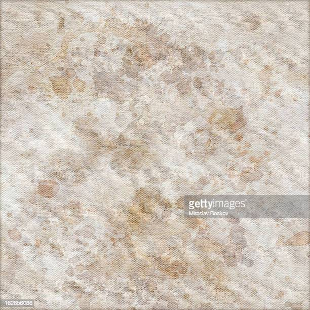 Hi-Res Artist's Unprimed Cotton Duck Canvas Mottled Vignette Grunge Texture