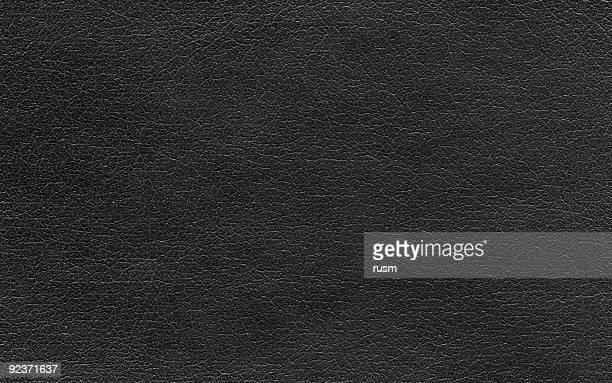 Hi-res Black leather background