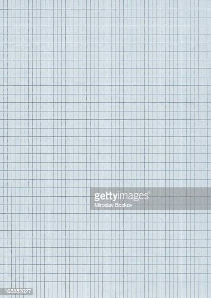 Hi-Res Notebook Blue Checkered Graph Paper Background