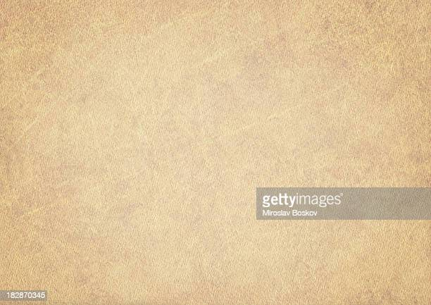 Hi-Res Old Beige Card Stock Watercolor Paper Vignetted Grunge Texture