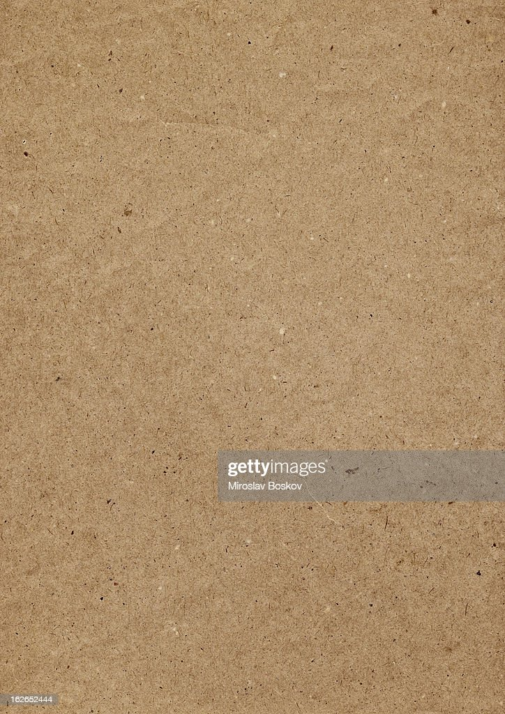 Hi-Res Old Recycle Brown Kraft Paper Painted Grunge Texture : Stock Photo