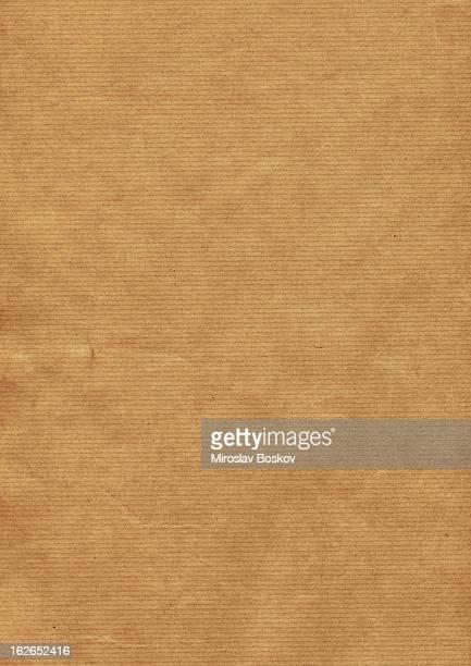 Hi-Res Old Recycle Brown Striped Kraft Paper Grunge Texture