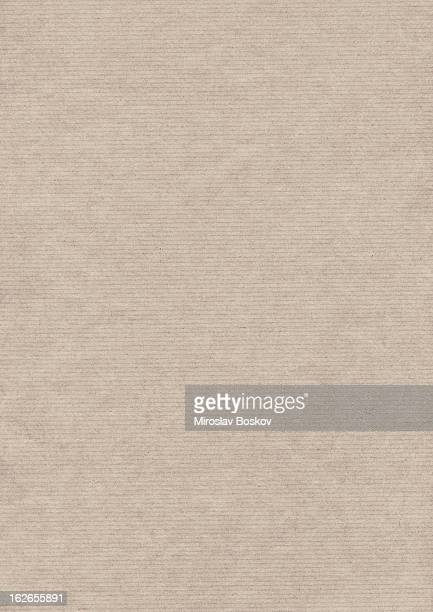 Hi-Res Recycled Beige Striped Wrapping Kraft Paper Grunge Texture