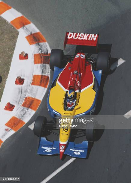 Hiro Matsushita of Japan drives the Payton/Coyne Racing Lola T96/00 Ford Cosworth during the Championship Auto Racing Teams 1996 PPG Indy Car World...