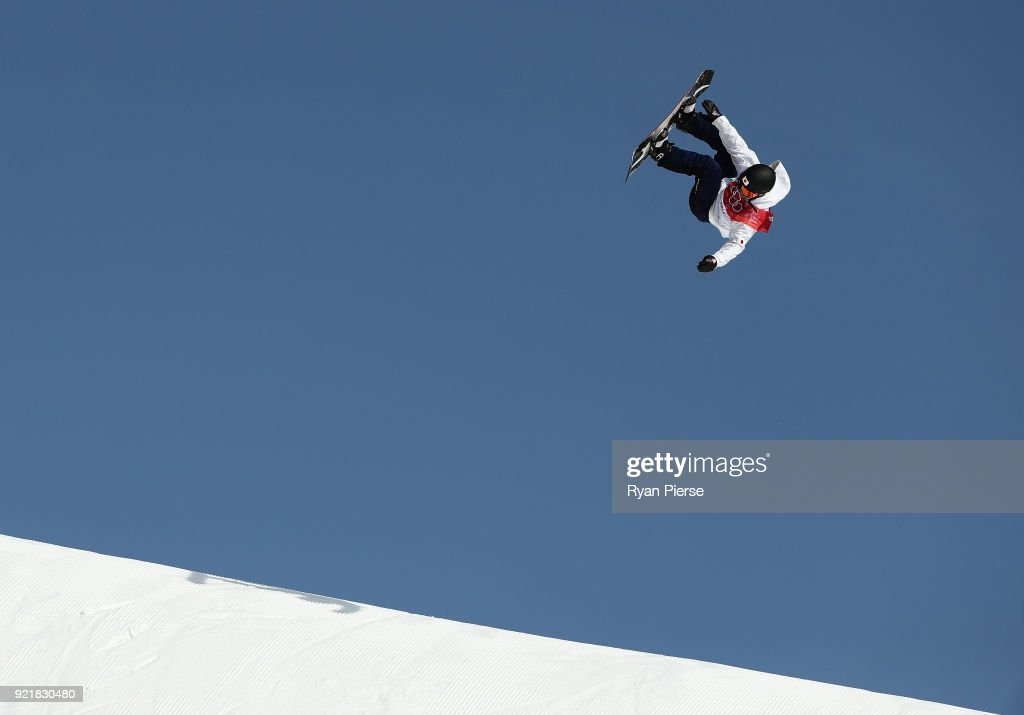Hiroaki Kunitake of Japan competes during the Men's Big Air Qualification on day 12 of the PyeongChang 2018 Winter Olympic Games at Alpensia Ski Jumping Centre on February 21, 2018 in Pyeongchang-gun, South Korea.