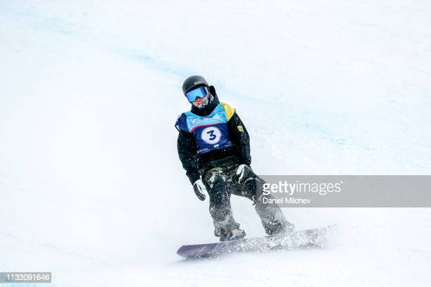 Hiroaki Kunitake of Japan in action during Men's slopestyle finals during the Burton US Open Championships at Golden Peak on March 1 2019 in Vail...