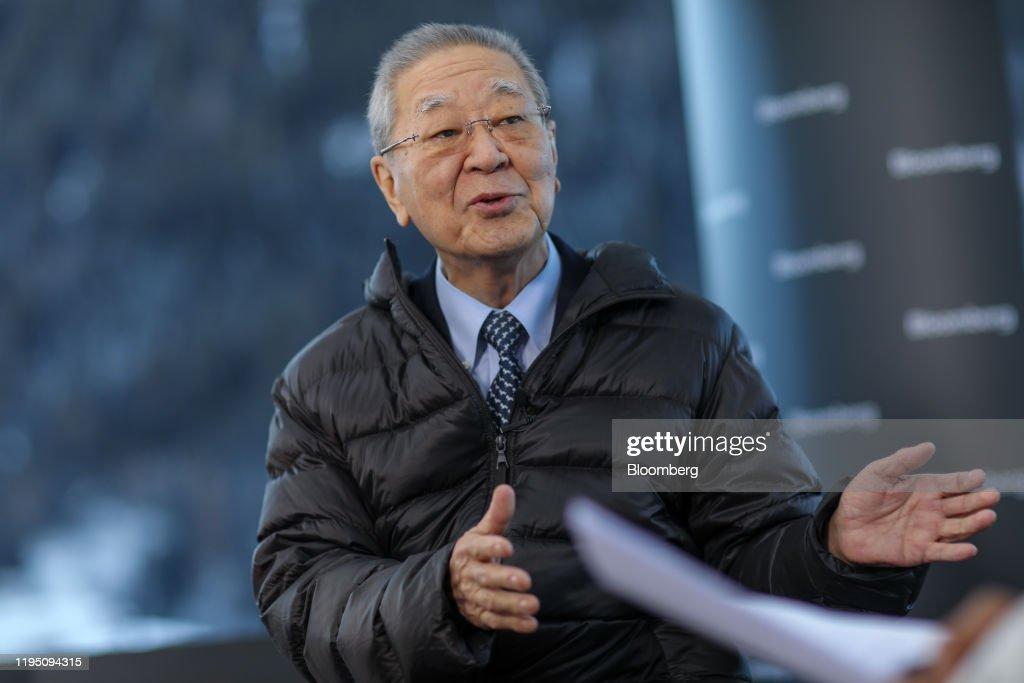 Opening Day Of The World Economic Forum (WEF) 2020 : News Photo