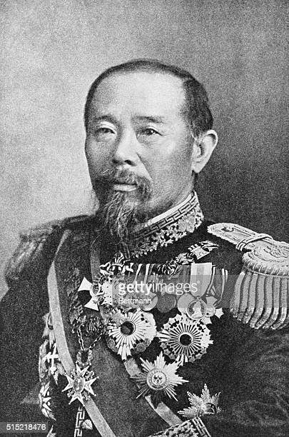 Hirobumi Ito fourtime premier of Japan and drafter of the Meiji constitution as well as being instrumental in the establishment of the national...