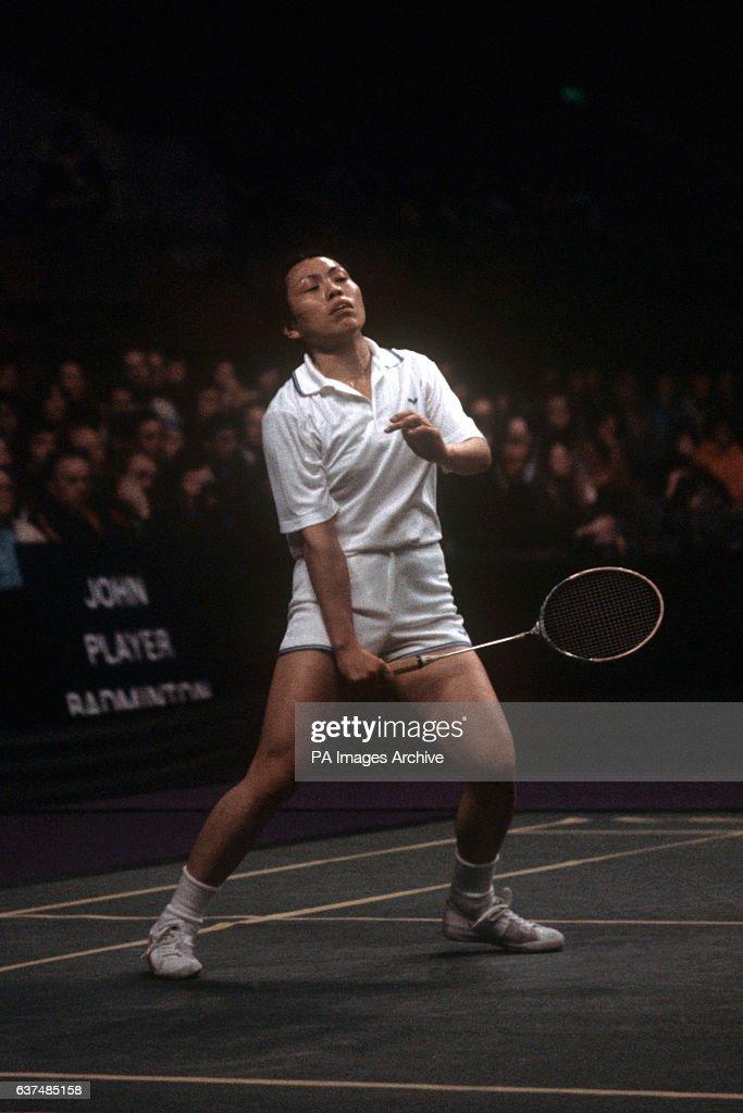 Badminton - All England Badminton Championship - Ladies Final - Hiroe Yuki v Lene Koppen - Wembley : News Photo