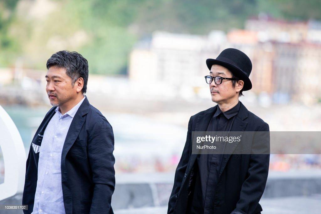 Hirokazu Koreeda 'Donostia Award' Photocall - 66th San Sebastian Film Festival