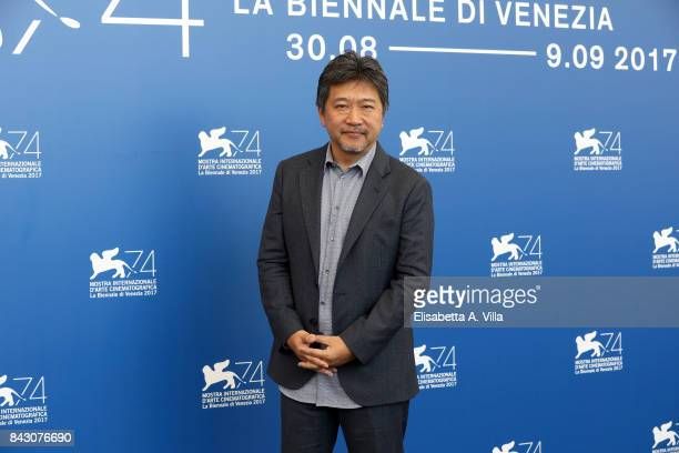 Hirokazu Koreeda attends the 'The Third Murder ' photocall during the 74th Venice Film Festival on September 5 2017 in Venice Italy