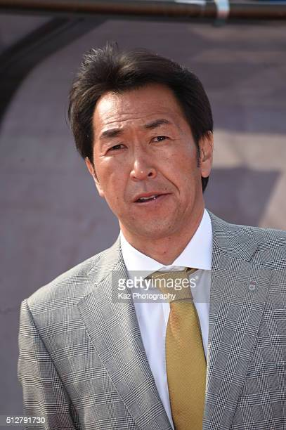 Hiroki Hattori manager of Thespa Kusatsu Gunma during the JLeague second division match between Thespa Kusatsu Gunma and FC Gifu at the Shoda Shoyu...