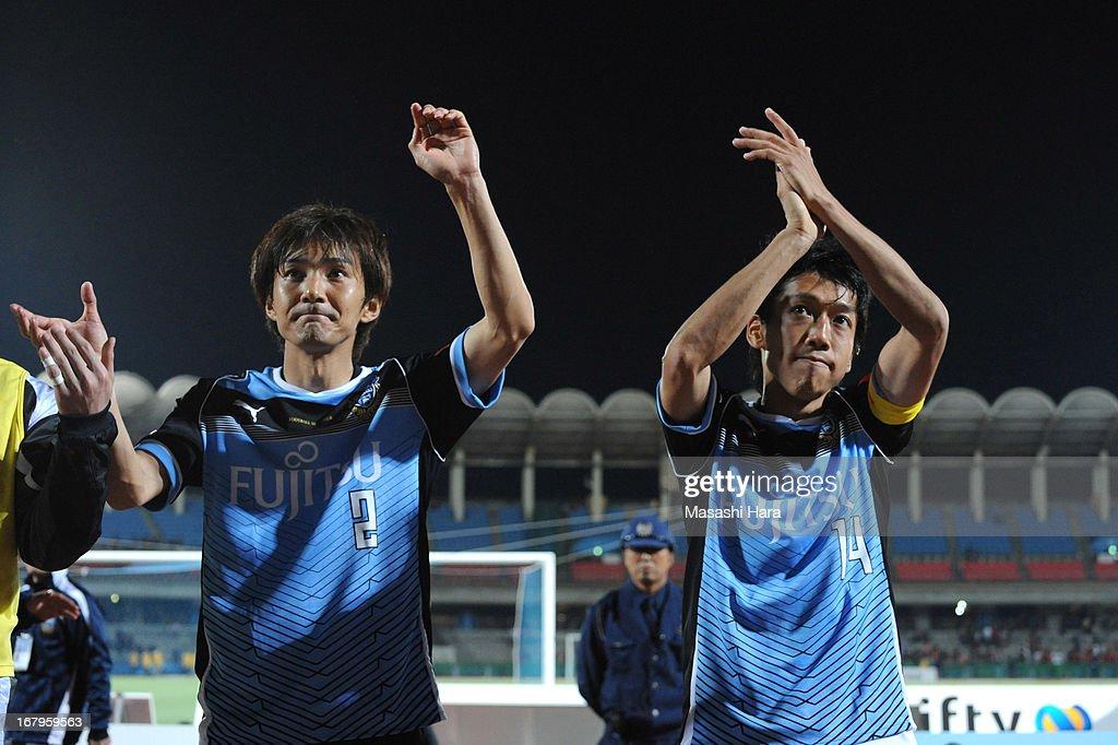 Kawasaki Frontale v Nagoya Grampus - J.League 2013 : ニュース写真