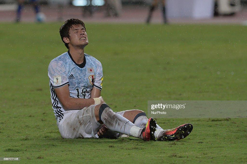 Thailand v Japan - 2018 FIFA World Cup Qualifier Group B : News Photo