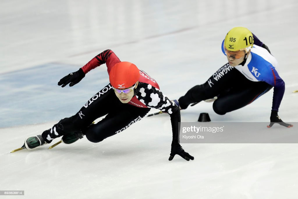 40th All Japan Short Track Speed Skating Championships - Day 1