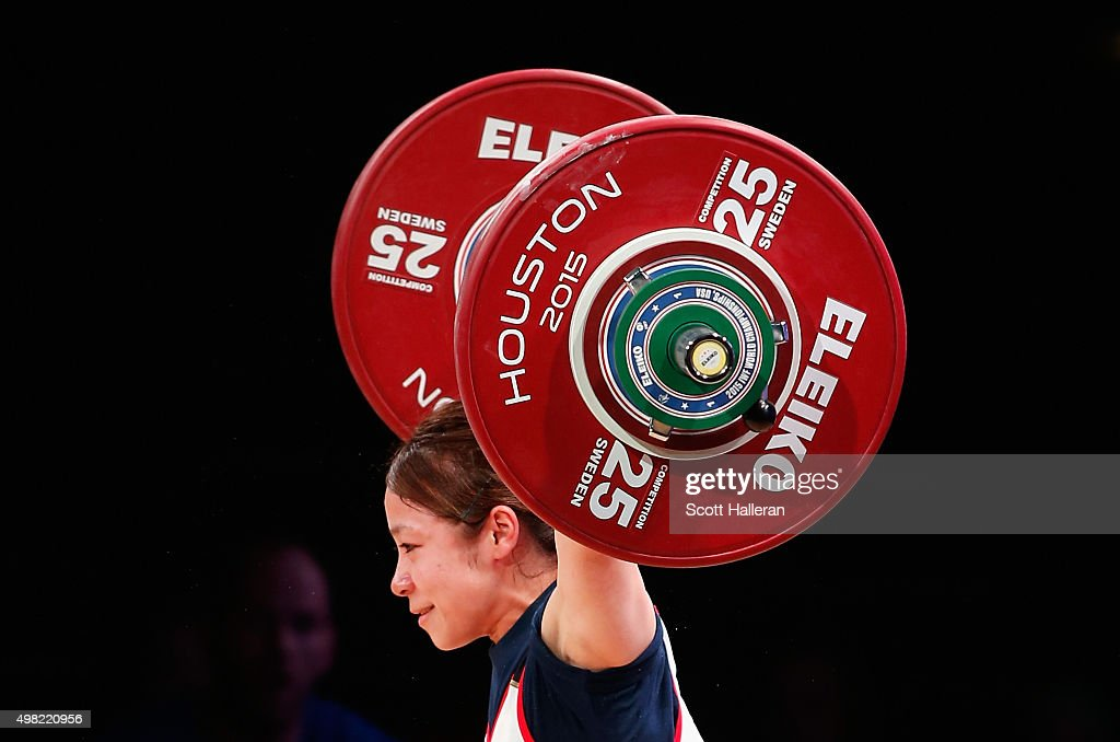 2015 International Weightlifting Federation World Championships : News Photo