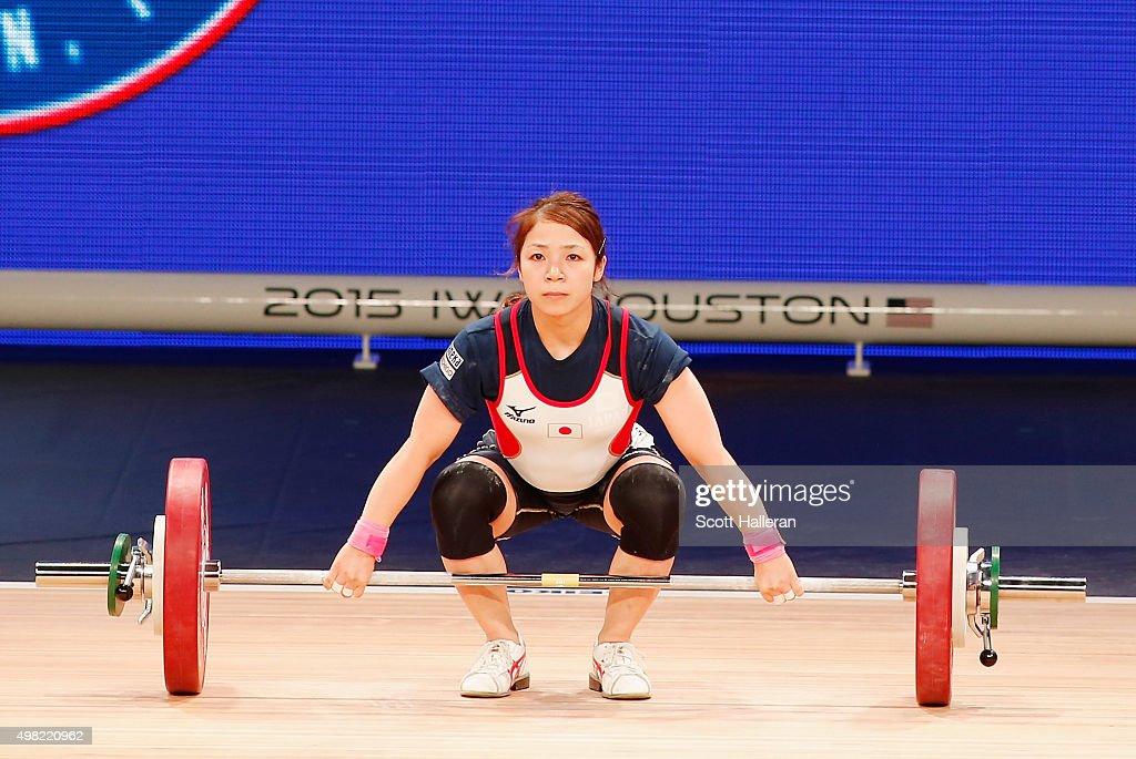 2015 International Weightlifting Federation World Championships : News Photo