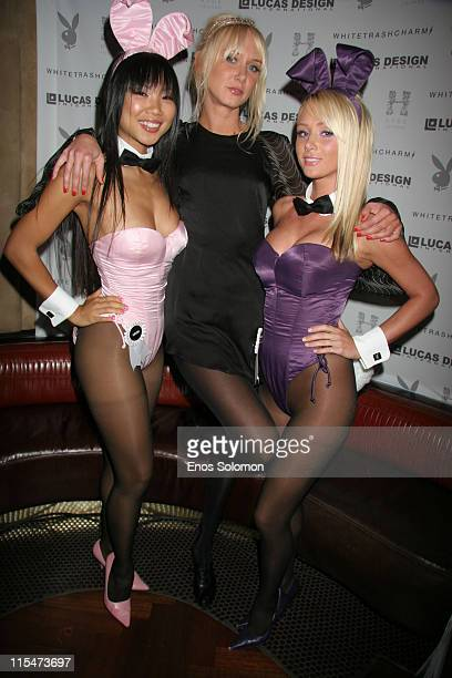 Hiromi Oshima Playboy Miss June 2004 Kimberly Stewart and Sara Jean Underwood Playboy Playmate of the Year 2007
