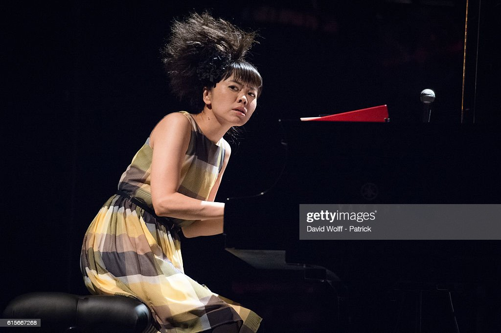 Hiromi  Perfomrs At La Cigale In Paris
