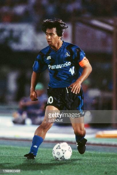 Hiromitsu Isogai of Gamba Osaka in action during the J.League Suntory Series match between Gamba Osaka and JEF United Ichihara at the Expo '70...