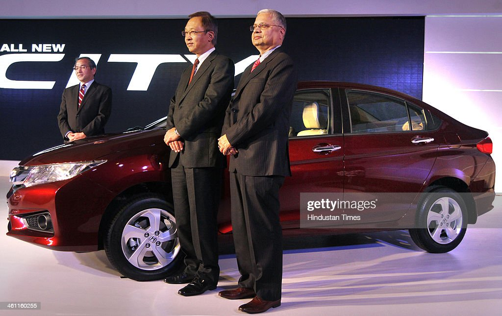 Hironori Kanayama C President And CEO Of Honda Cars India Ltd Yoshiyuki