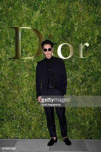 Hiroomi Tosaka attends the Dior 2017 Spring/Summer Haute Contour Collection Show at Ginza Six on April 19 2017 in Tokyo Japan