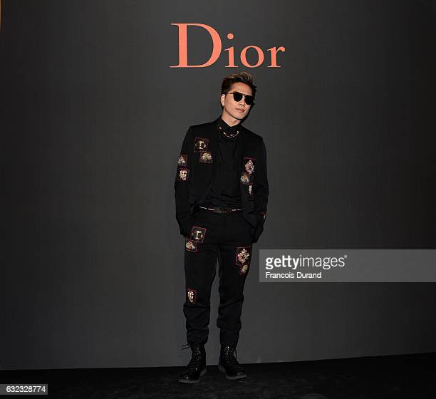Hiroomi Tosaka attends the Dior Homme Menswear Fall/Winter 20172018 show as part of Paris Fashion Week on January 21 2017 in Paris France