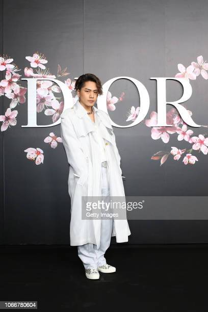 Hiroomi Tosaka attends the photocall at the Dior Pre Fall 2019 Men's Collection on November 30, 2018 in Tokyo, Japan.