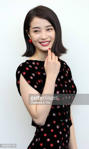 Hirose Suzu attends the 'The Third Murder ' photocall during the 74th Venice Film Festival on September 5 2017 in Venice Italy