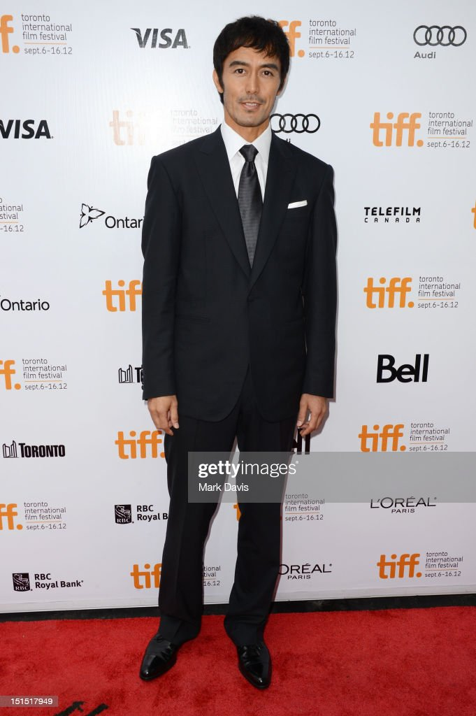 Hiroshi Abe attends the 'Thermae Romae' premiere during the 2012 Toronto International Film Festival at Roy Thomson Hall on September 8, 2012 in Toronto, Canada.