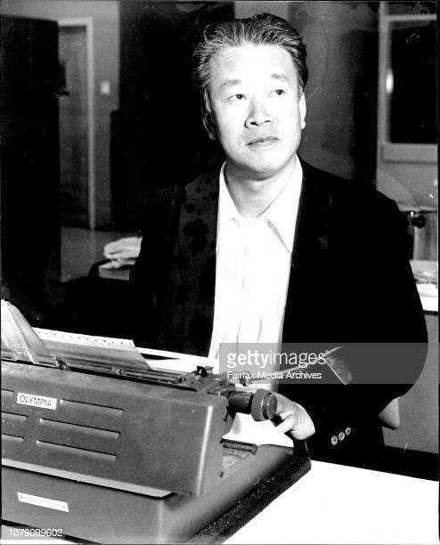 Hiroshi Aoki Asahi Shimbun correspondent in Aust September 18 1979
