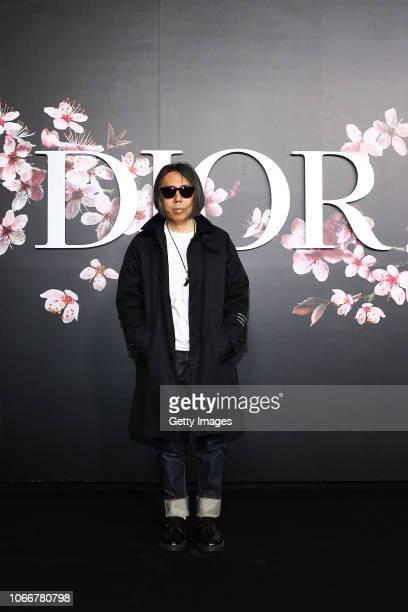 Hiroshi Fujiwara attends the photocall at the Dior Pre Fall 2019 Men's Collection on November 30, 2018 in Tokyo, Japan.