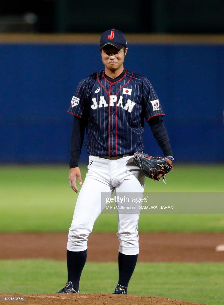 Netherlands v Japan - Haarlem Baseball Week