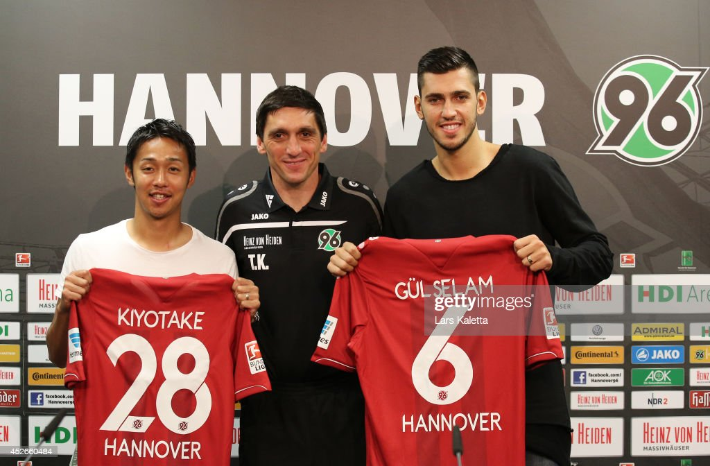 Hannover 96 Unveil New Signing Hiroshi Kiyotake And Ceyhun Guelselam