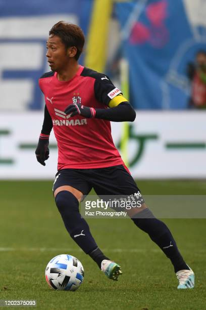 Hiroshi Kiyotake of Cerezo Osaka dribbles the ball during the J.League MEIJI YASUDA J1 match between Cerezo Osaka and Oita Trinita at the Yanmar...