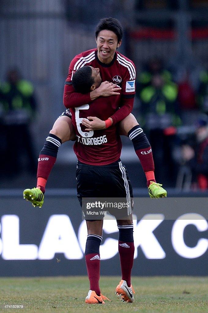 1. FC Nuernberg v Eintracht Braunschweig - Bundesliga