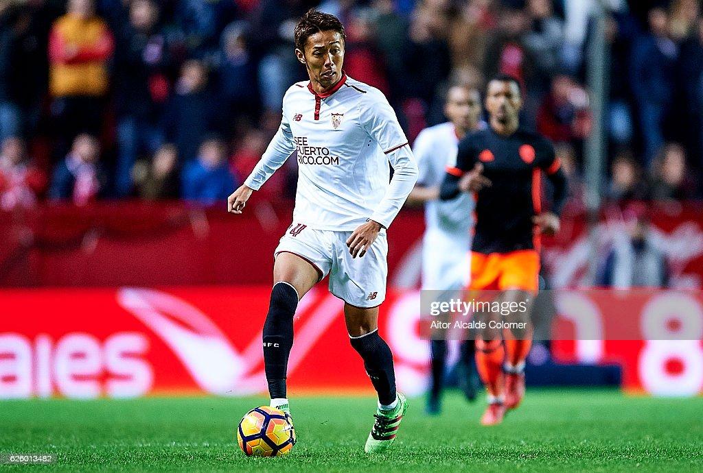 Sevilla FC v Valencia CF  - La Liga : ニュース写真