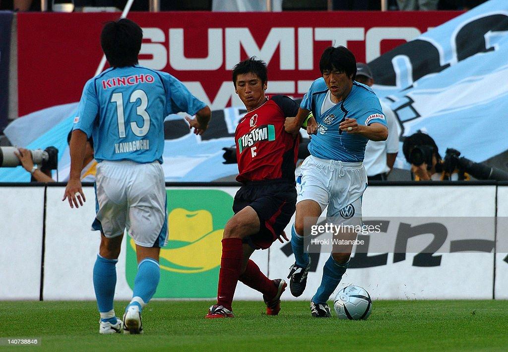 Kashima Antlers v Jubilo Iwata - J.League 2004 : News Photo