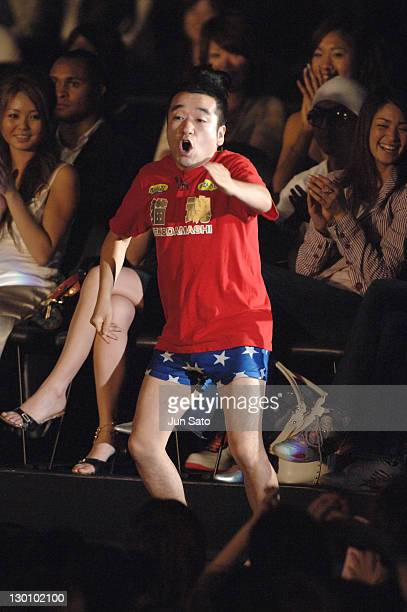 Hiroshi Neko during MTV Video Music Awards Japan 2006 Show at Yoyogi National Stadium in Tokyo Japan