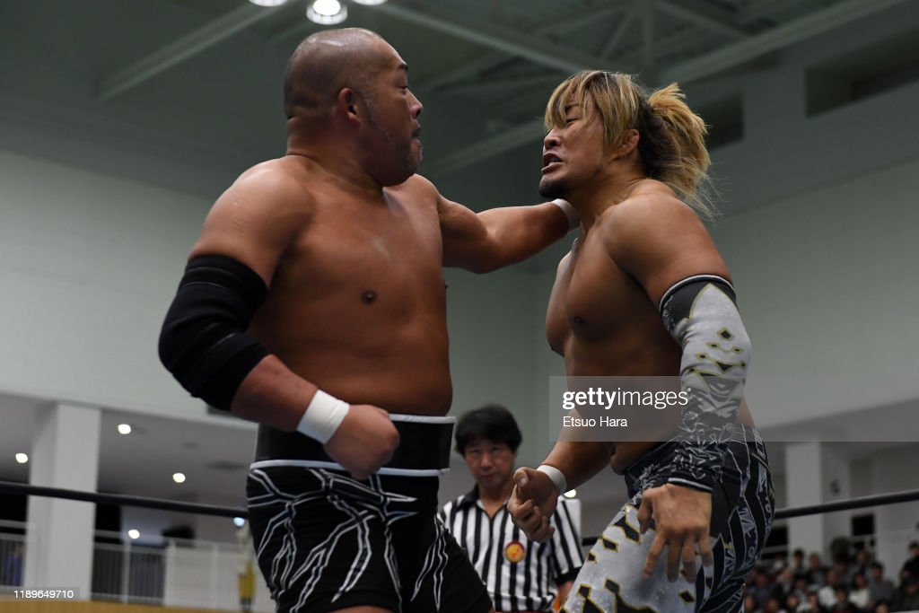 New Japan Pro-Wrestling 'World Tag League' : News Photo
