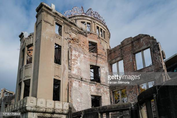 hiroshima a-bomb dome - atomic bombing of hiroshima stock pictures, royalty-free photos & images