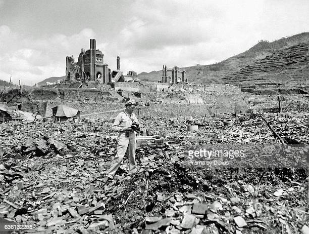 Hiroshima after Atomic Bomb strike in 1945