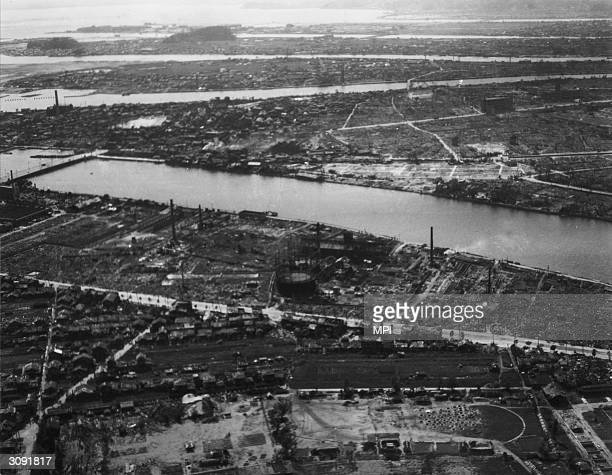 Hiroshima after the atomic bombing