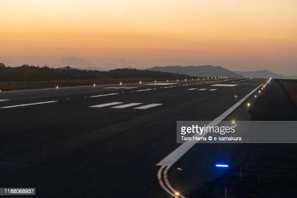 hiroshima airport in japan - taro hama ストックフォトと画像