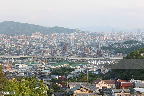 hiroshima city, hiroshima, japan - hiroshima city stock photos and pictures