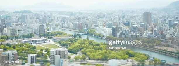 hiroshima city - hiroshima city stock photos and pictures